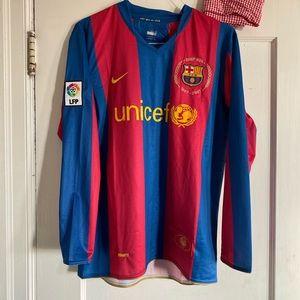 Nike Barcelona Ronaldinho 10 jersey